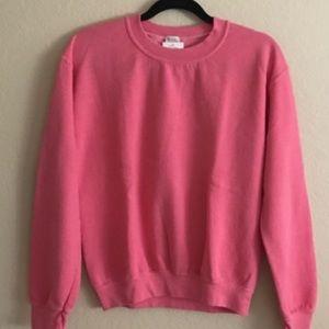 Brandy Melville(John Galt) hot pink Erica Sweater